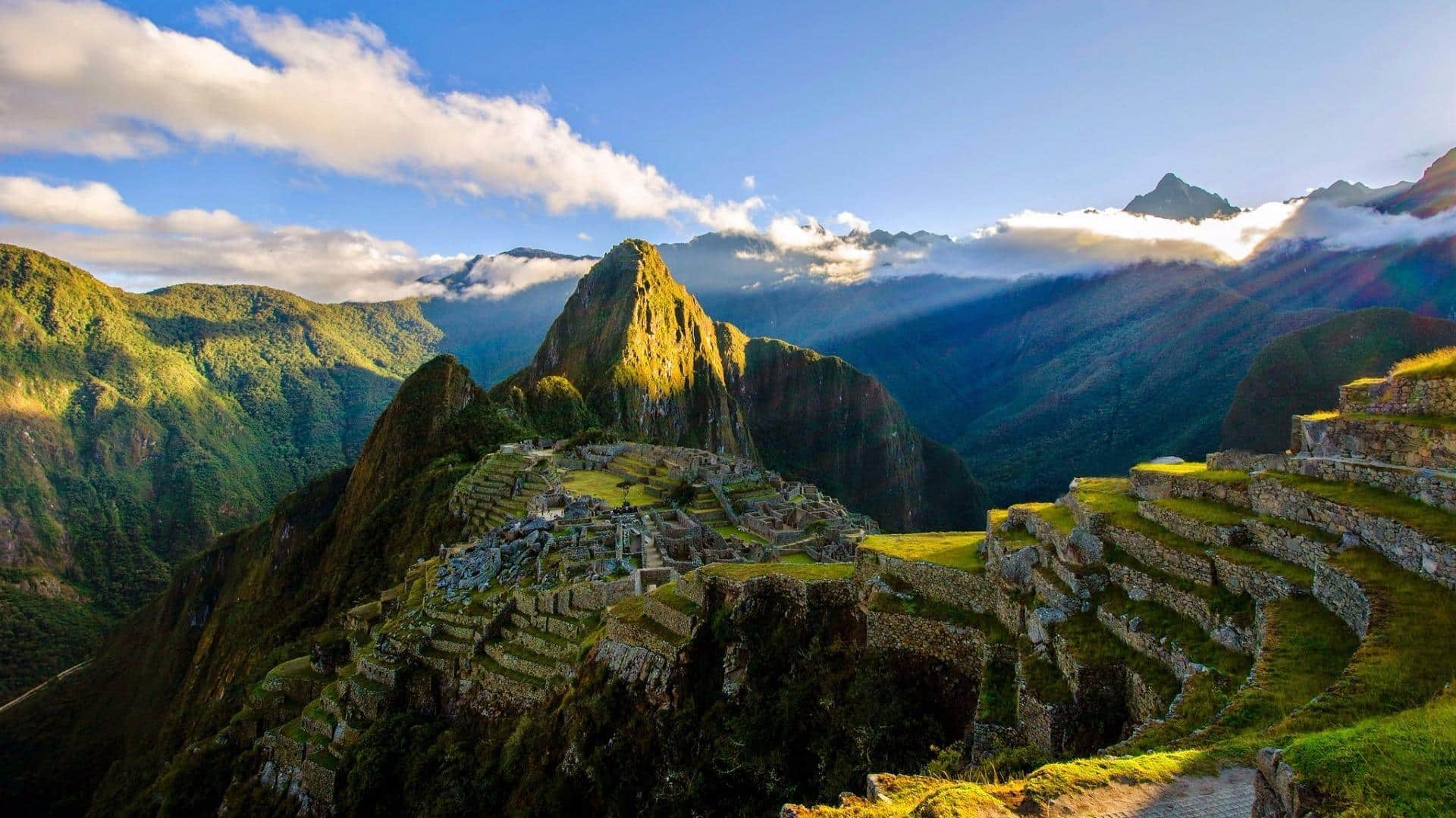Machu Picchu par Borisandina au Pérou